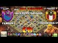 KEREN....!!!! War gabungan all leader indonesia VS pamsus | Th 12 attack war strategy