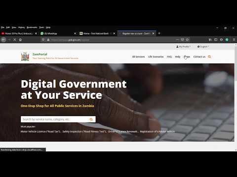 Pay Road Tax (Musonko) Online in Zambia