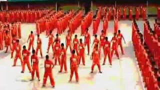 Танцующие зеки Thriller Майкл Джексон