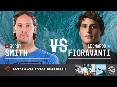 Jordy Smith vs. Leonardo Fioravanti - Round of 32, Heat 16 - Rip Curl Pro Bells Beach 2019