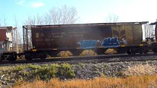 CP Rail,# 2,Oct. 18 2011,Ogden Rd. Calgary,Grain Train