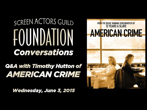Conversations with Timothy Hutton of AMERICAN CRIME