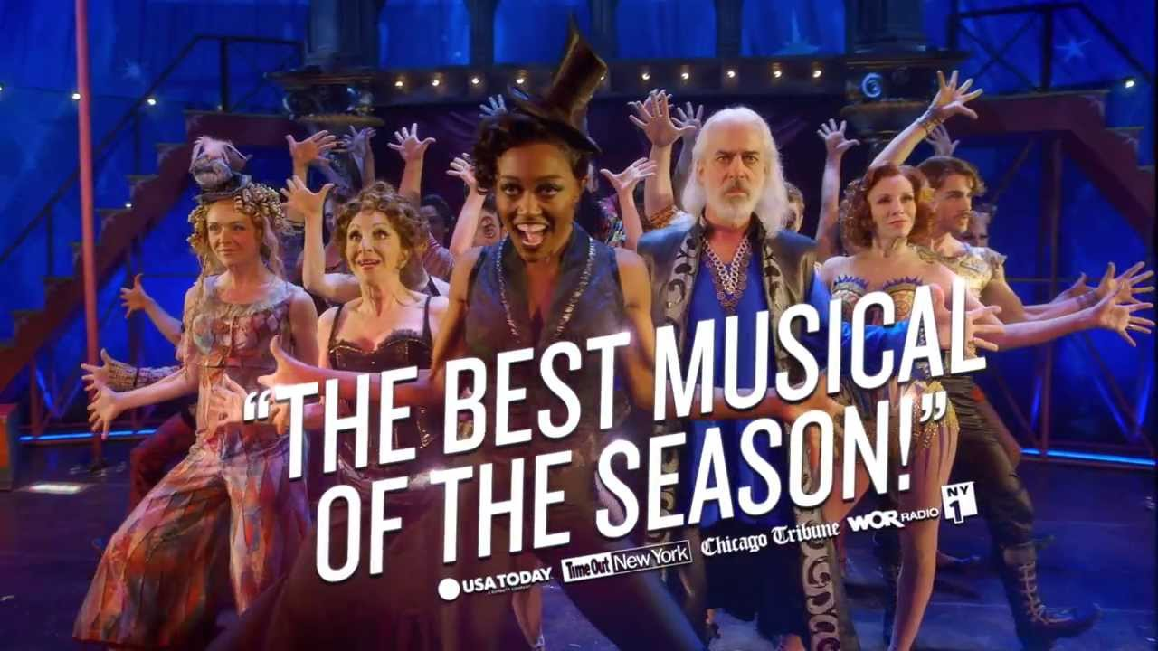 Pippin Tony Award Best Musical Revival Youtube