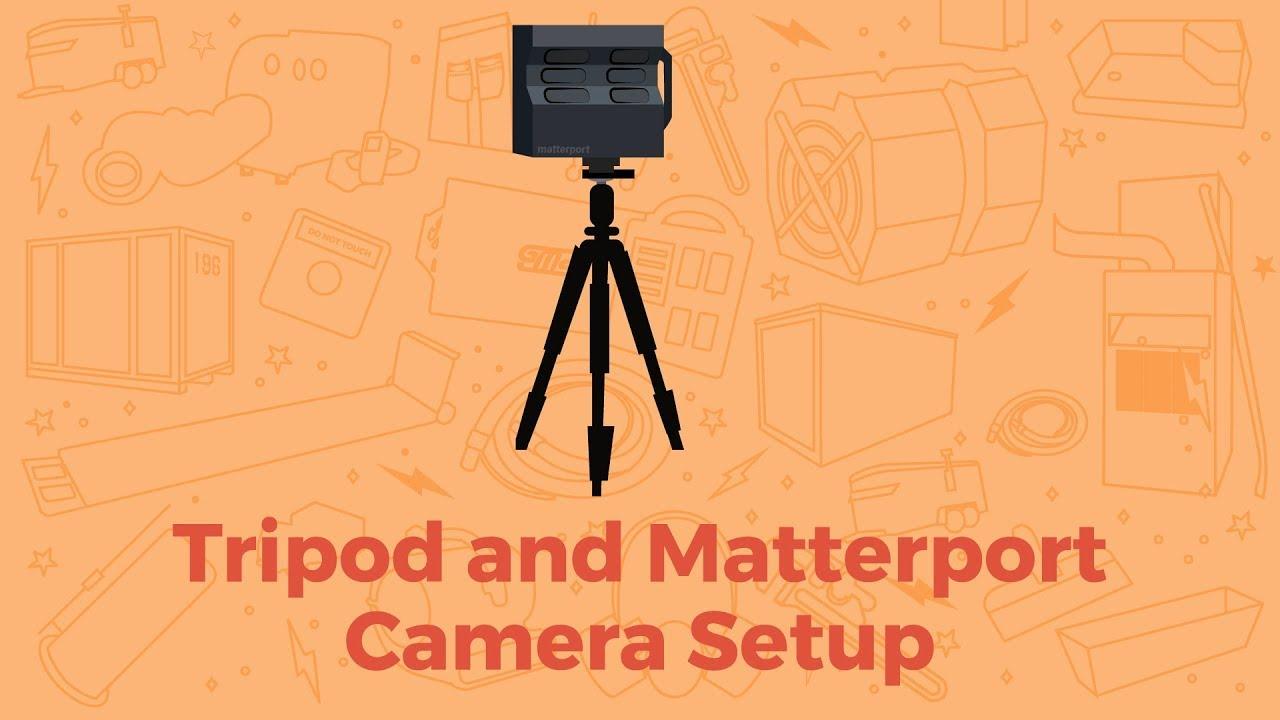 Matterport: PRO2 Camera on a Tripod