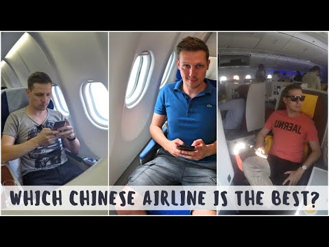 Review: HAINAN vs CHINA SOUTHERN vs CHINA EASTERN - Which Chinese Airline is Best?