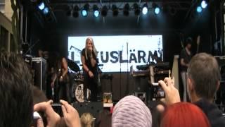 LuxusLärm 1.09.2012 live in Essen  WDR Ein Tag Live