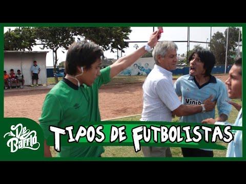 TIPOS DE FUTBOLISTAS   DeBarrio