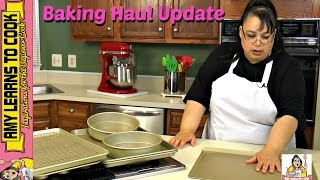 Baking Haul Update | Williams-Sonoma Goldtouch Bakeware | Amy Learns to Cook