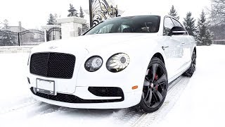 I DELIVER A Bentley Flying Spur to My Lamborghini SV & Murcy Client!