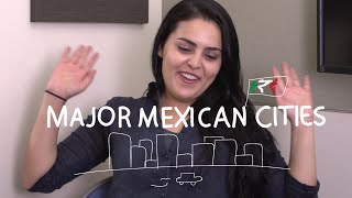 Weekly Mexican Spanish Words with Alex - Mexican Cities