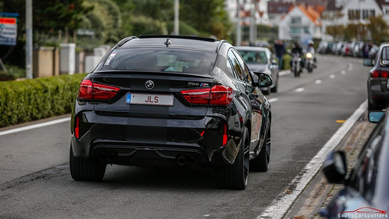 700hp Bmw X6m W Akrapovic Exhaust Launch Control