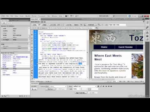 3.4 Converting Existing Pages to HTML5