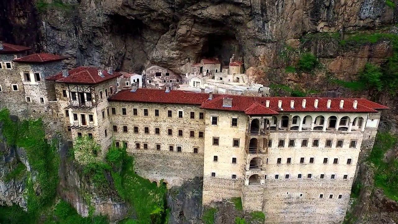 Sümela Manastırı Drone ile Havadan Çekim