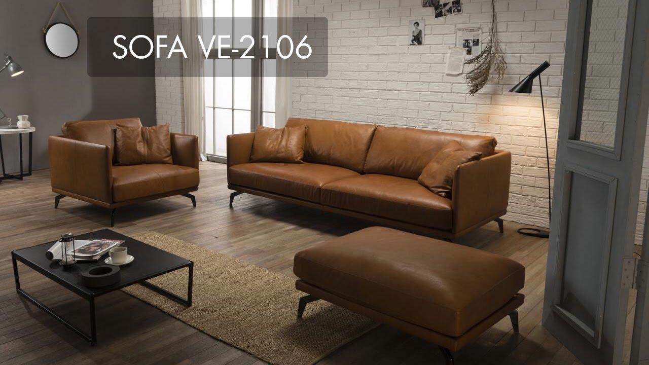 Ghế sofa da thật, mẫu đẹp, nhập khẩu Nhật Bản, Hàn Quốc – FURNILAND