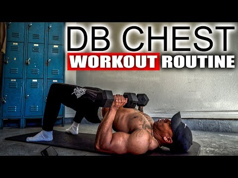 10 MINUTE DUMBBELL CHEST WORKOUT