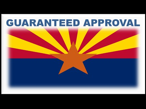 Arizona State Car Financing : Rapid Approval Process for Bad Credit Auto Loans with No Down Payment