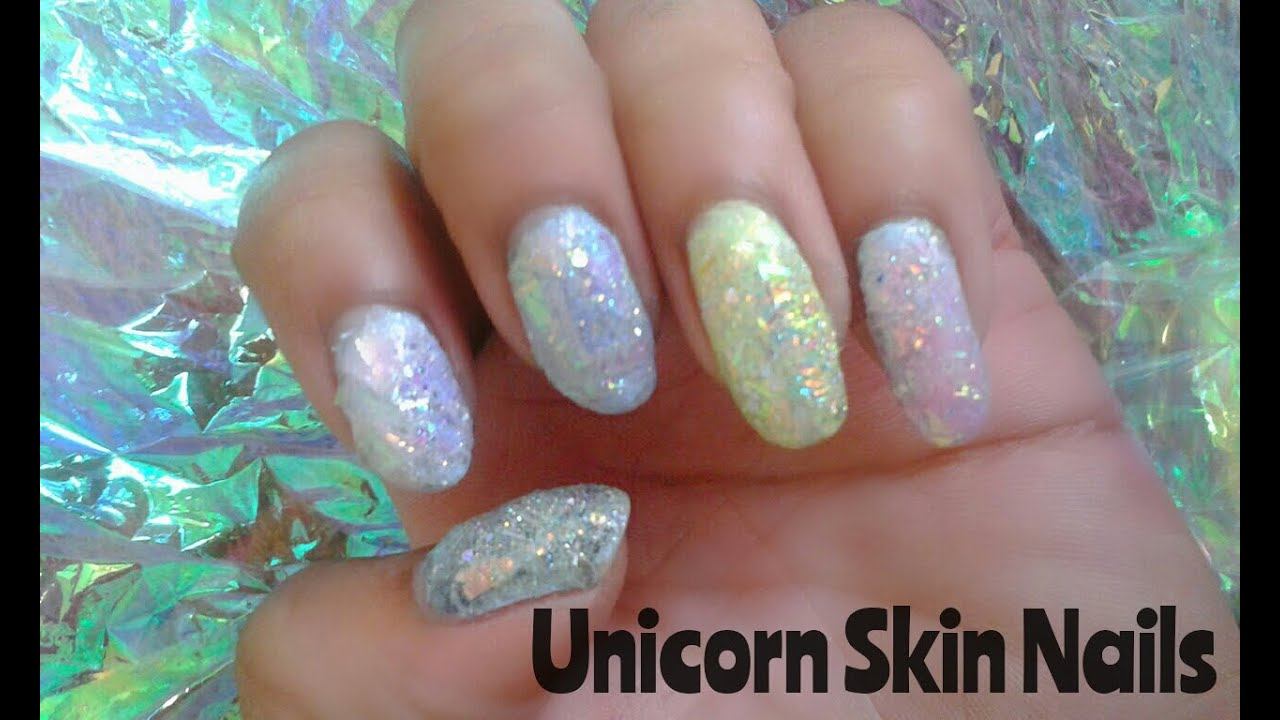 Unicorn Skin Nail Tutorial