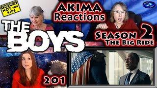 The Boys 201 | The Big Ride | AKIMA Reactions