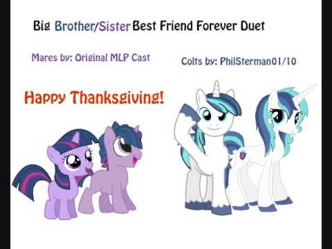 Big Brother/Sister Best Friend Forever Duet - Happy Thanksgiving!