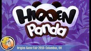 Hidden Panda — game preview at Origins 2018