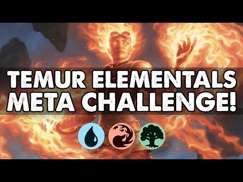 Temur Elementals - Meta Challenge | Standard | MTG Arena