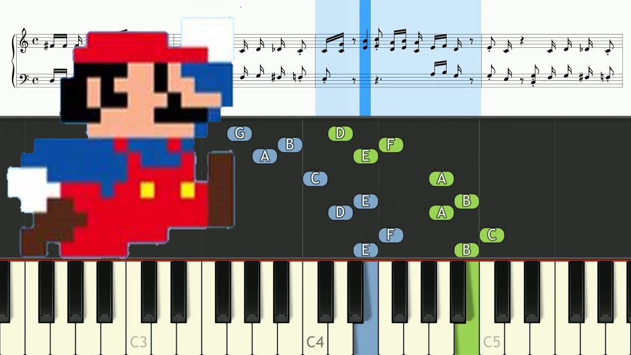 how to play mario on the keyboard