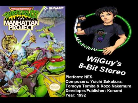 Teenage Mutant Ninja Turtles 3: The Manhattan Project (NES) Soundtrack - 8BitStereo