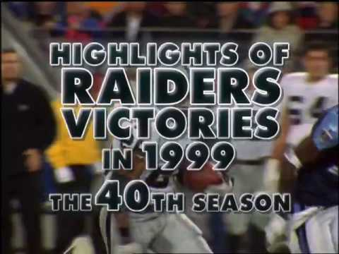 1999 Oakland Raiders