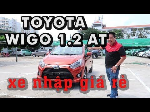 Toyota Wigo xe nhập [Giá : 405 tr] đã có mặt I Rewiew chi tiết thực tế với Đạt Toyota [ 0937776556].