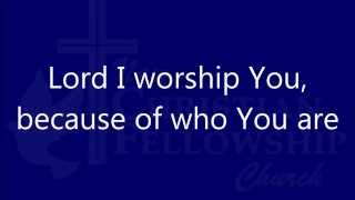 Because Of Who You Are - Vicki Yohe -Lyrics