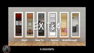 Room Escape Game - EXITs4 / 脱出ゲーム EXITs4 【EXITs】 ( 攻略 /Walkthrough / 脫出)