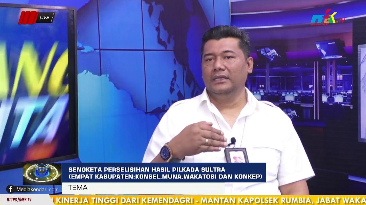 Sengketa Perselisihan Hasil Pilkada Sultra (Empat Kabupaten : Konsel,Muna,Wakatobi Dan Konkep)