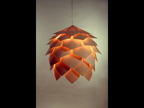 Buy wood pendant light in melbourne [pinecone 2]