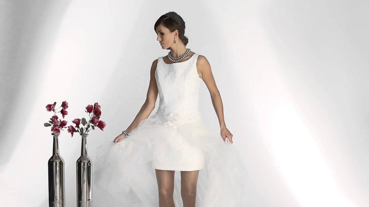 Brautkleider zum Verleih bei DeliciousDress in Goslar - YouTube
