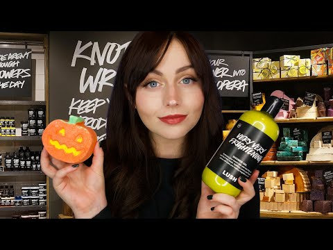 [ASMR] The Lush Store Roleplay - Fizzing Bath Bombs and Dicing Soap