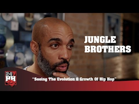 Jungle Brothers - Seeing The Evolution & Growth Of Hip Hop (247HH Exclusive)