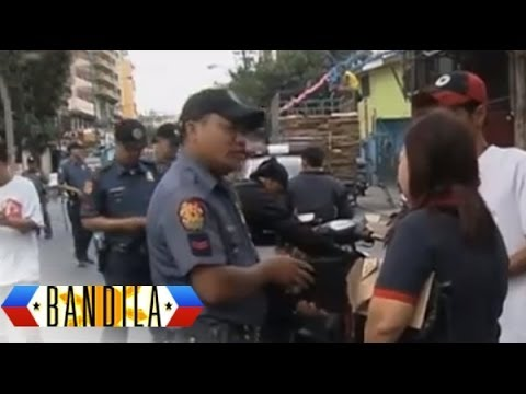 24-hour police checkpoints set up in Manila