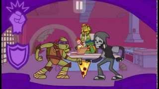 Игра Черепашки Ниндзя Пицца