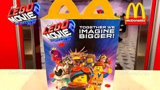 2019 McDONALD'S LEGO MOVIE 2 HAPPY MEAL TOYS BOX CANADA NEXT DISCOVERY MINDBLOWN NOT TEEN TITANS GO!