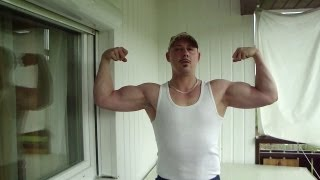 My Muscular Development Body,Arms with Natural Bodybuilding