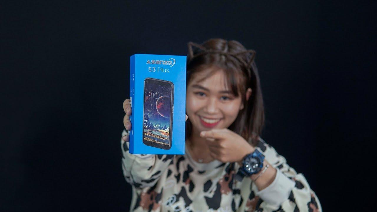 """Mở hộp & trải nghiệm nhanh Asanzo S3 Plus: """"iPhone X"""" giá 2.580.000đ"""