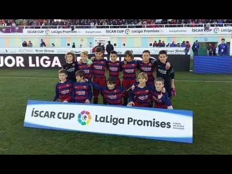 [ESP] Final Íscar Cup 2016 (Benjamín): FC Barcelona A - RCD Espanyol (3ESP