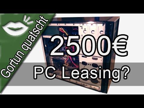 WUCHERPREISE beim PC-Leasing