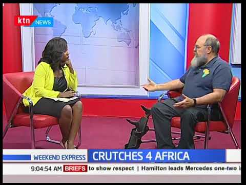 Crutches 4 Africa, an NGO changing lives of people living with disability  in Kenya and Africa