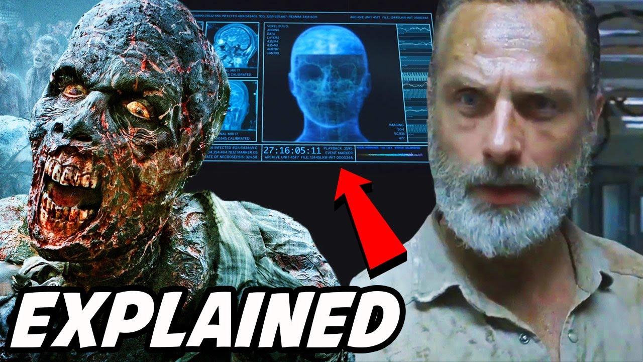 'REAL Talking Walkers & Confirmed Rick Grimes Movie Plot' The Walking Dead Rick Grimes Movie Finale