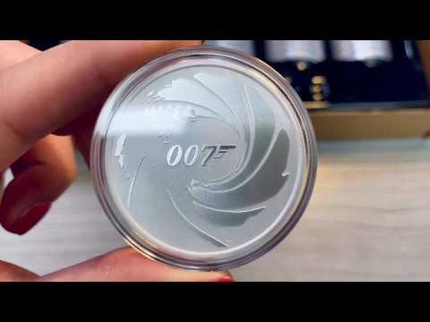 Bond. James Bond. 2020 James Bond 007 Silver Coin Unboxing | Bullion Exchanges