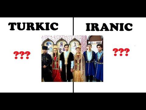 Are Azerbaijanis Turkic or Iranic ? [ آیا آذری ها ایرانی تبارند؟ ] Azeriler Türk midir?