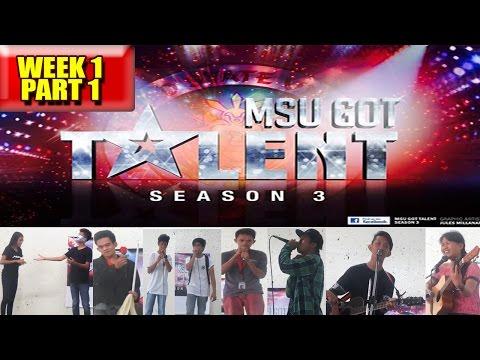 MSU Got Talent Season 3 Auditions Week 1 (Part 1)