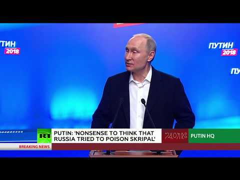 Putin on Skripal case: Nonsense to think Russia did it