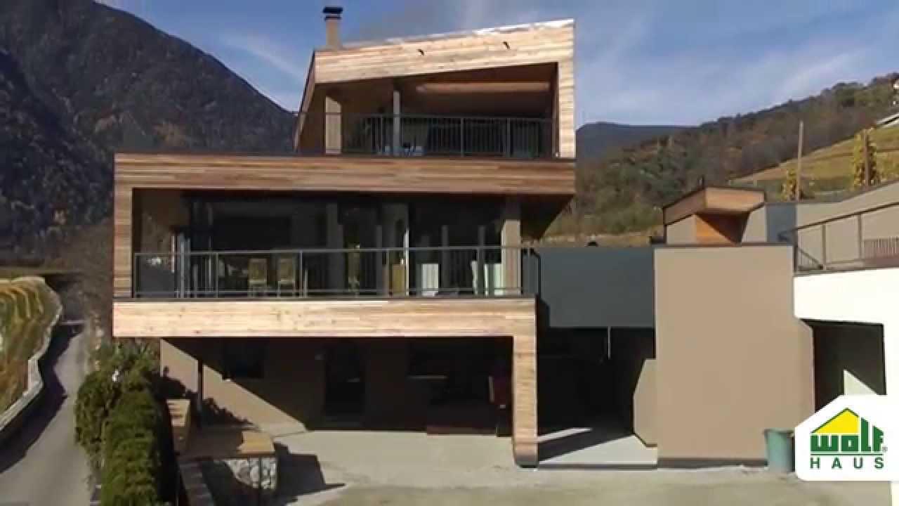 Wolf Haus wolf haus sopraelevazione e design progetto perathoner